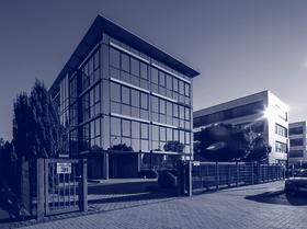 Außenansicht des Firmensitzes der INSIGMA IT Engineering GmbH in Frechen.